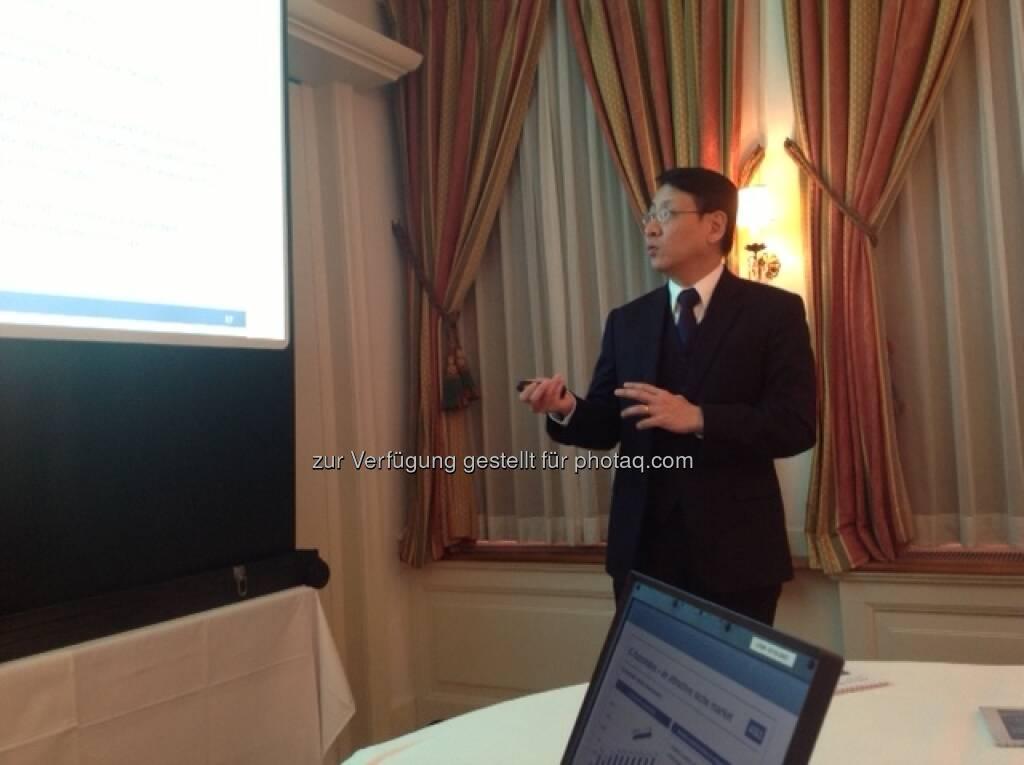 AT&S Freitag - Wien - Präsentation von CJ Phua - CFO China, © AT&S (24.09.2013)