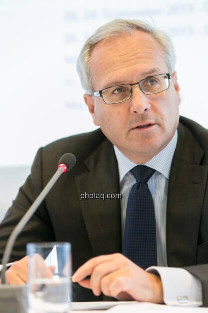 Hannes Bogner, CFO UNIQA Insurance Group AG , © finanzmarktfoto.at/Martina Draper (24.09.2013)