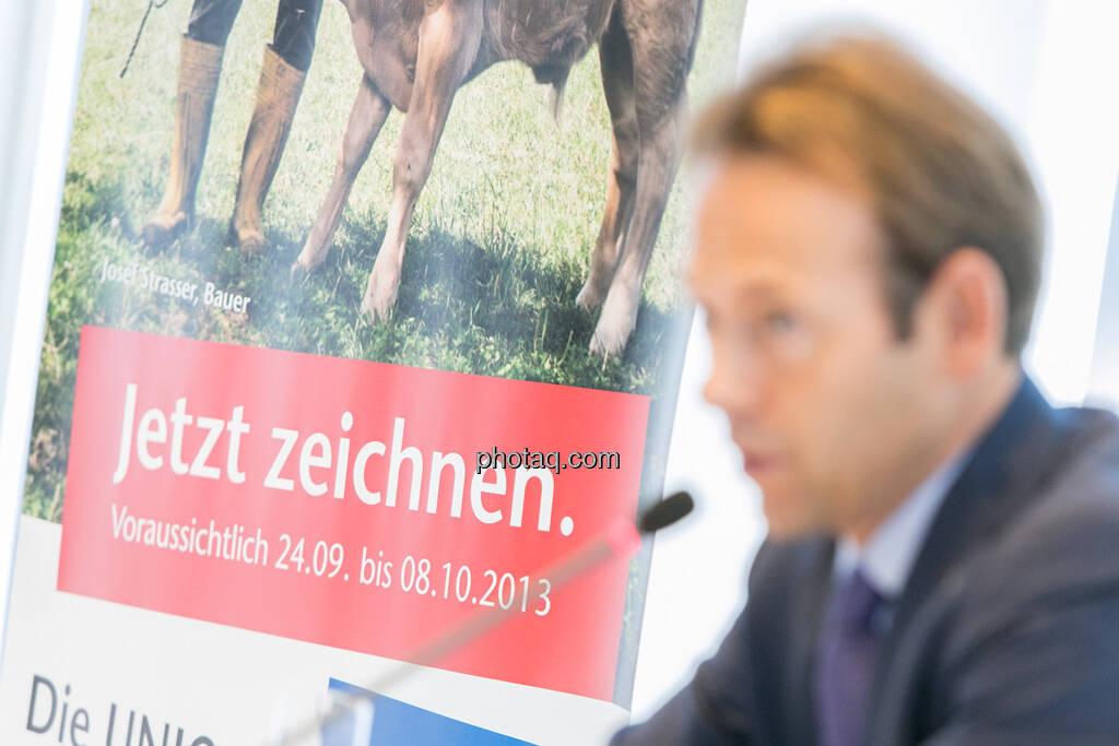 Andreas Brandstetter, CEO UNIQA Insurance Group AG - jetzt zeichnen, © finanzmarktfoto.at/Martina Draper (24.09.2013)