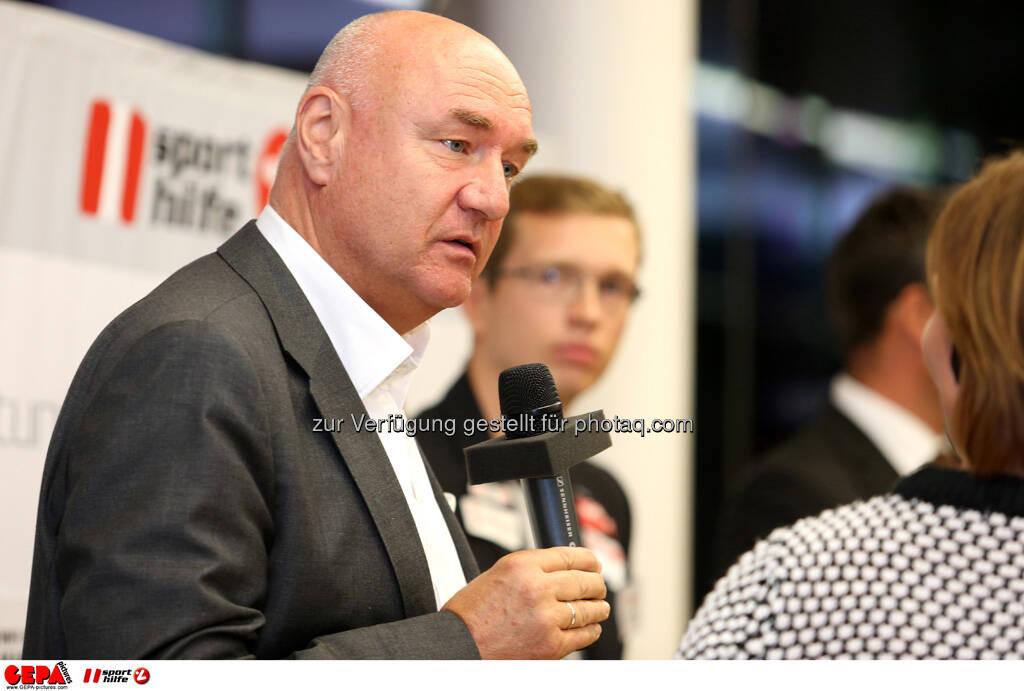 Hans Peter Trost (ORF). (Foto: GEPA pictures/ Mario Kneisl) (25.09.2013)