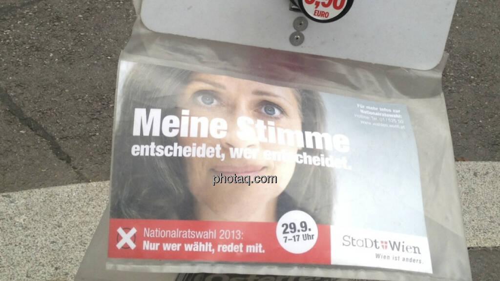 Österreich am Wahltag (29.09.2013)