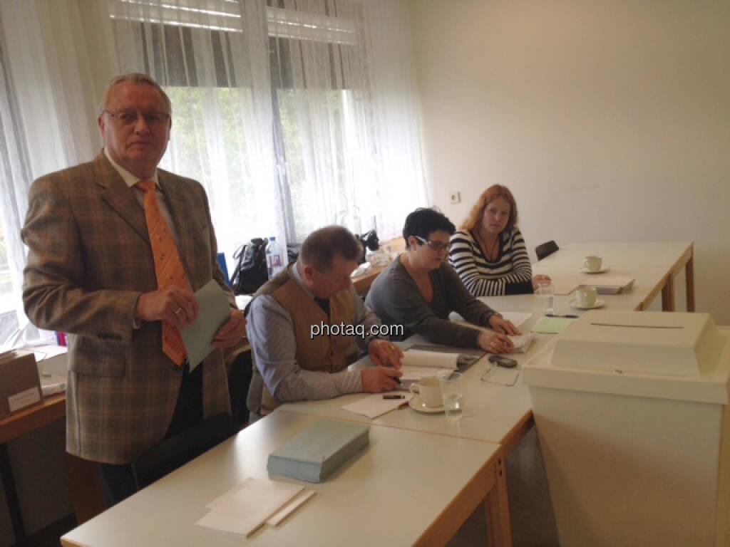Wahllokal (29.09.2013)
