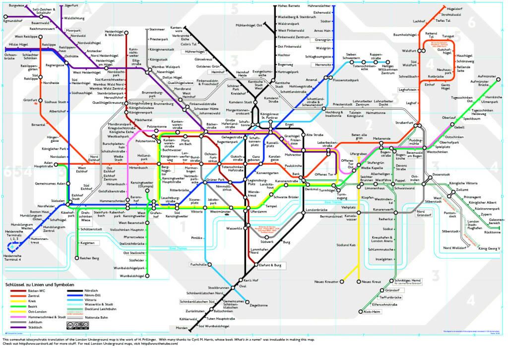 Grossartige London-Map Inhalt von Horst Prillinger (c) Creative Commons Namensnennung - (verdientes) Fan mail and feedback can be sent to hppr@mac.com. (29.09.2013)