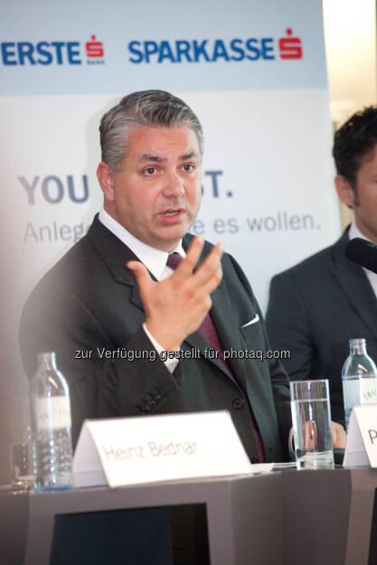 Peter Bosek (Erste Bank Österreich Vorstand), © Michaela Mejta / finanzmarktfoto.at (30.09.2013)