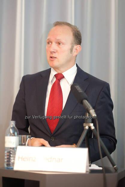 Heinz Bednar (Erste-Sparinvest) Vorstandsvorsitzender, © Michaela Mejta / finanzmarktfoto.at (30.09.2013)