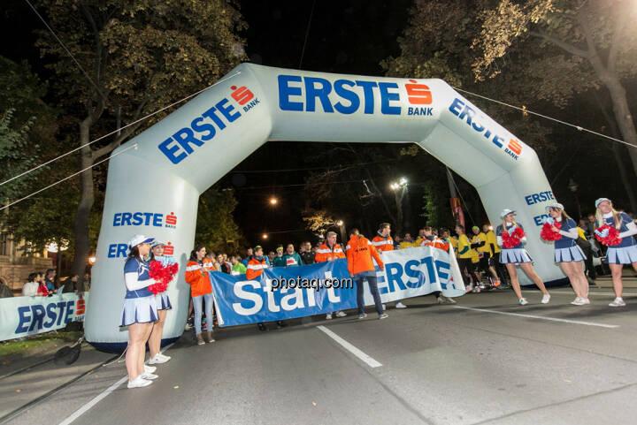 Erste Bank Vienna night run 2013, Startbereich