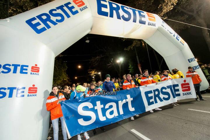 Erste Bank Vienna night run 2013, Christian Drastil im Startbereich