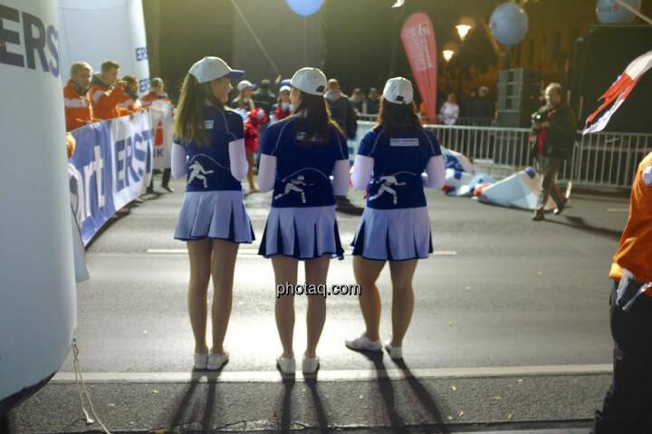Erste Bank Vienna night run 2013, Cheerleader