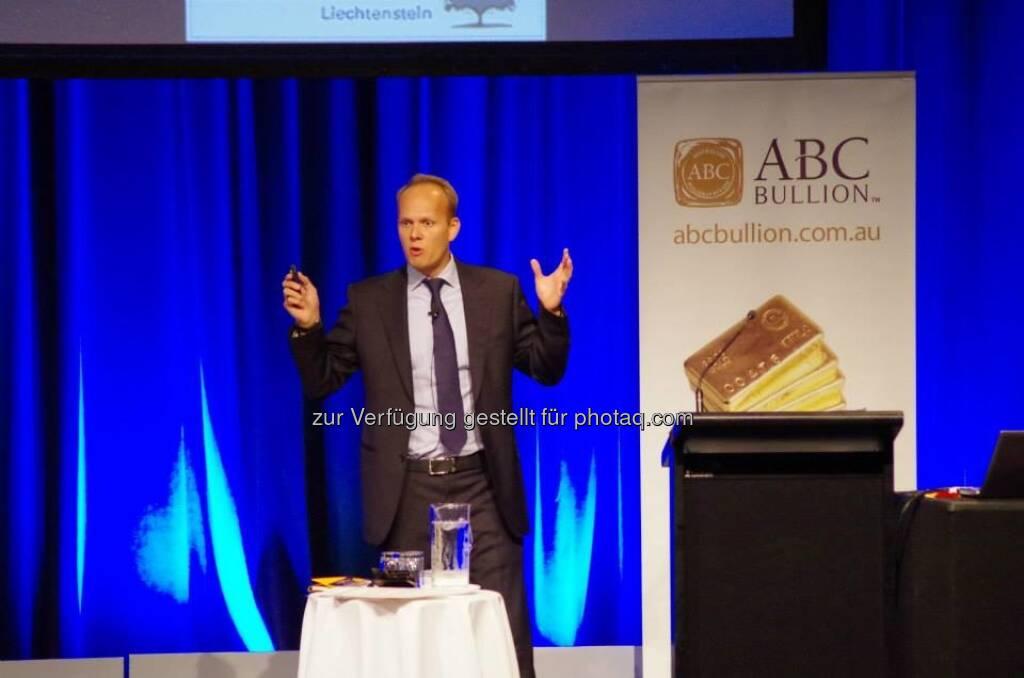 Ronald Stöferle, Incrementum, in Sydney -  ABC Bullion (03.10.2013)
