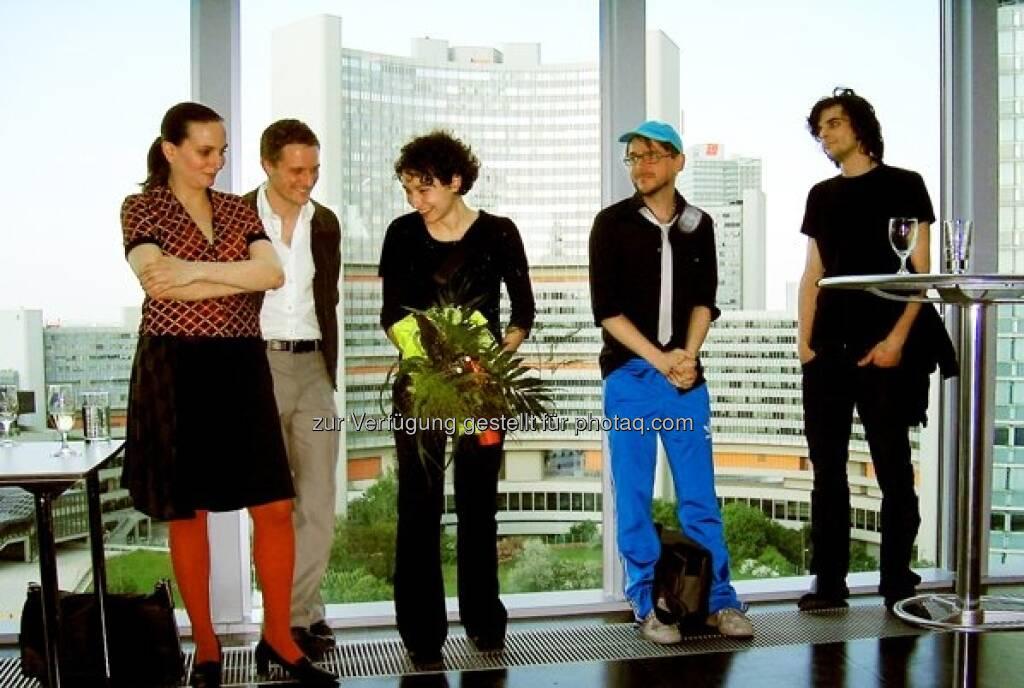 Deborah Sengl, Bertram Hasenauer, Sevda Chkoutova, Siggi Hofer, Drago Persic    , © Strabag Kunstforum (05.10.2013)