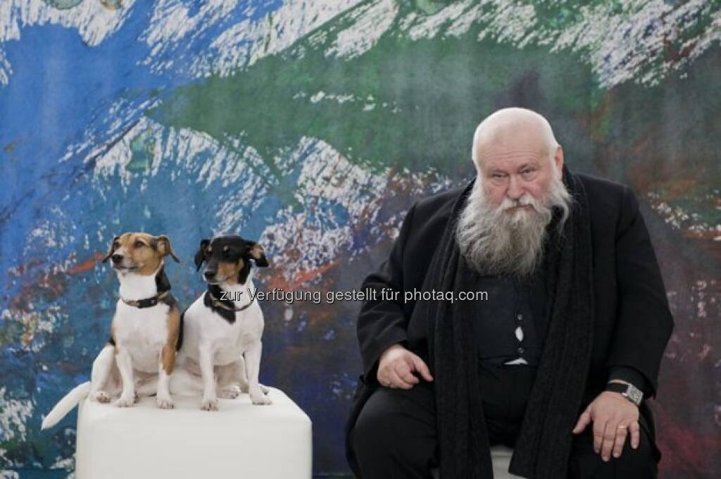 Hermann Nitsch, © Strabag Kunstforum (05.10.2013)