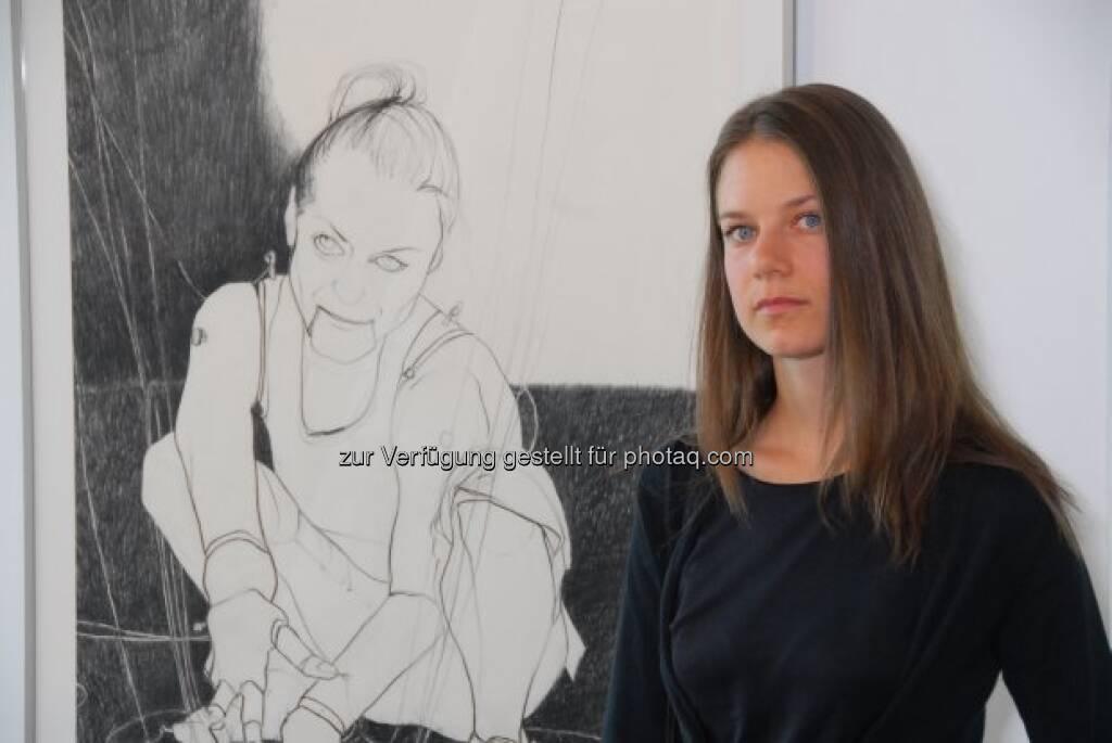 Birgit Pleschberger, © Strabag Kunstforum (05.10.2013)