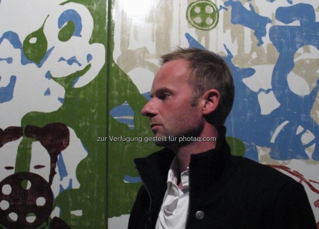 Oliver Dorfer, © Strabag Kunstforum (05.10.2013)
