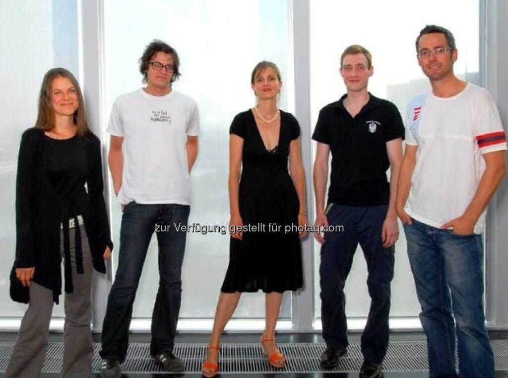 Birgit Pleschberger, Robert Muntean, Moni K.Huber, Bernard Ammerer, Klaus Wanker, © Strabag Kunstforum (05.10.2013)