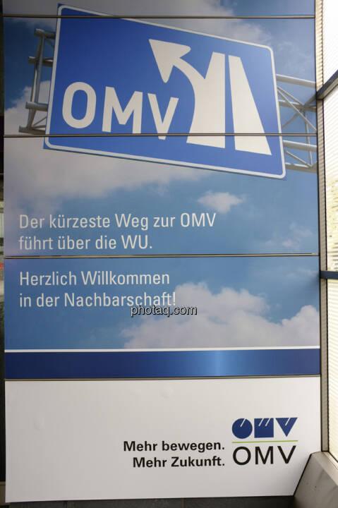 OMV, Der kürzeste Weg zur OMV führt über die WU