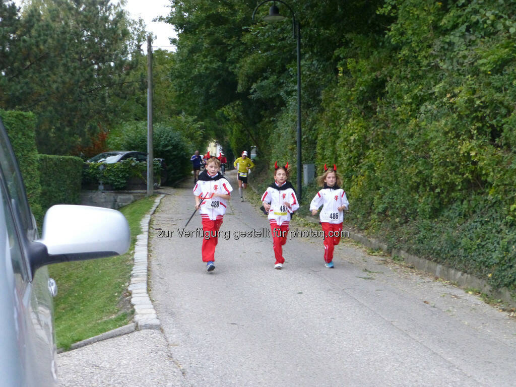 3 Kinder mit Teufelsohren, 8. Königstetter Herbstlauf 2013 (06.10.2013)