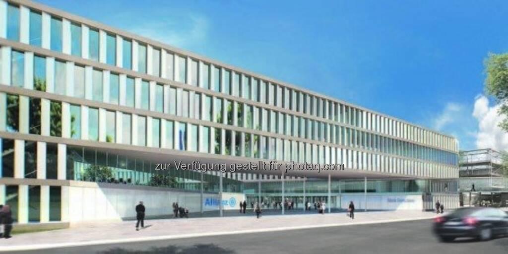 Strabag-Tochter Züblin erweitert Allianz Campus Unterföhring (07.10.2013)