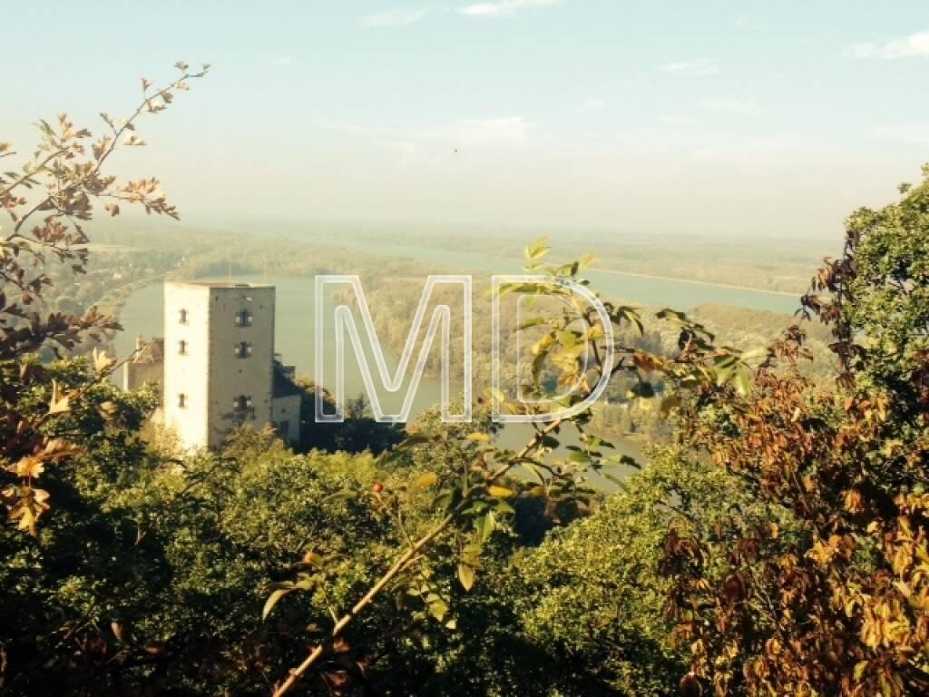 Burg Greifenstein, Tullnerfeld, Ausblick, © Martina Draper (08.10.2013)