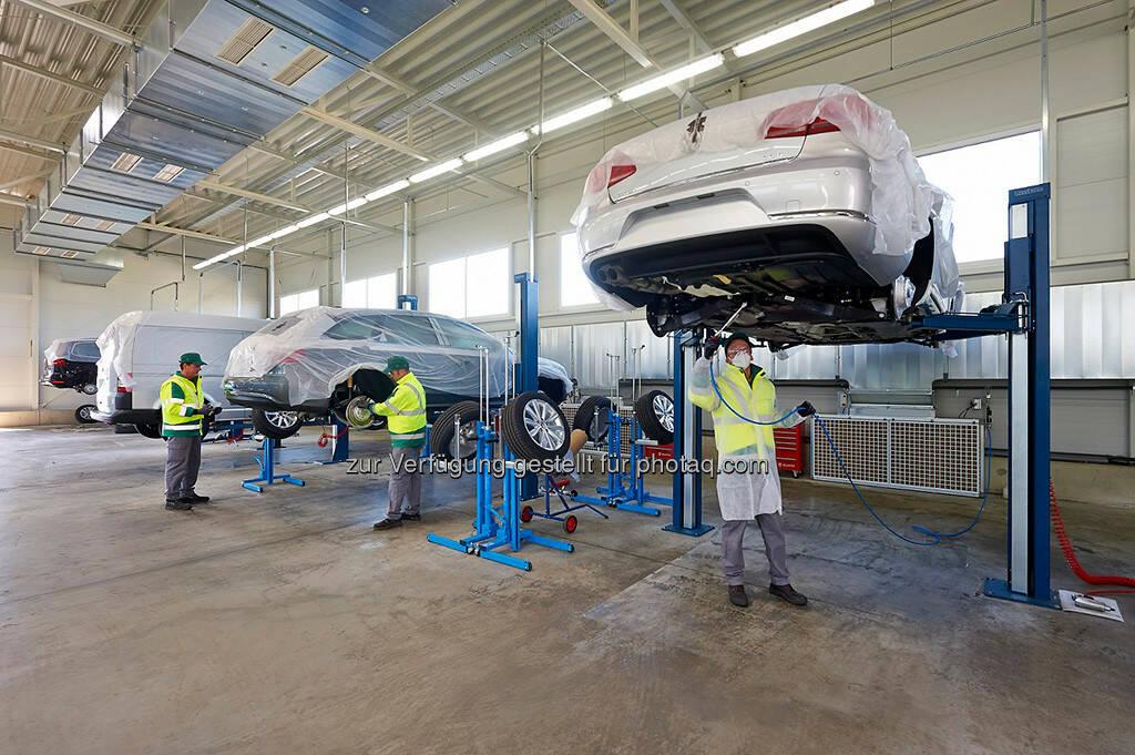 Hödlmayr Logistics schließt Umbau des Fahrzeuglogistikcenters Wiener Neustadt ab (Bild: Hödlmayr Logistics) (10.10.2013)