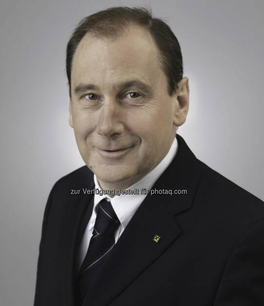 Martin Schaller, Generaldirektor der Raiffeisen-Landesbank Steiermark AG  neu im Aufsichtsrat der RZB Foto: RLB Stmk (10.10.2013)