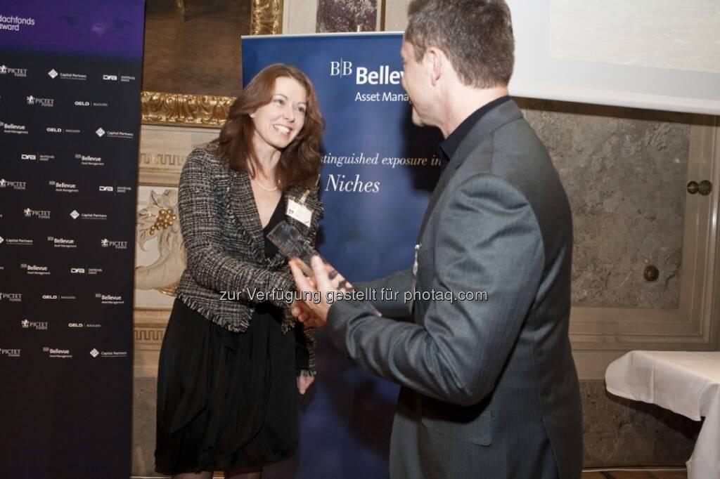 Ingrid Bach, Allianz Invest KAG, Mario Franzin, GELD-Magazin (15.12.2012)