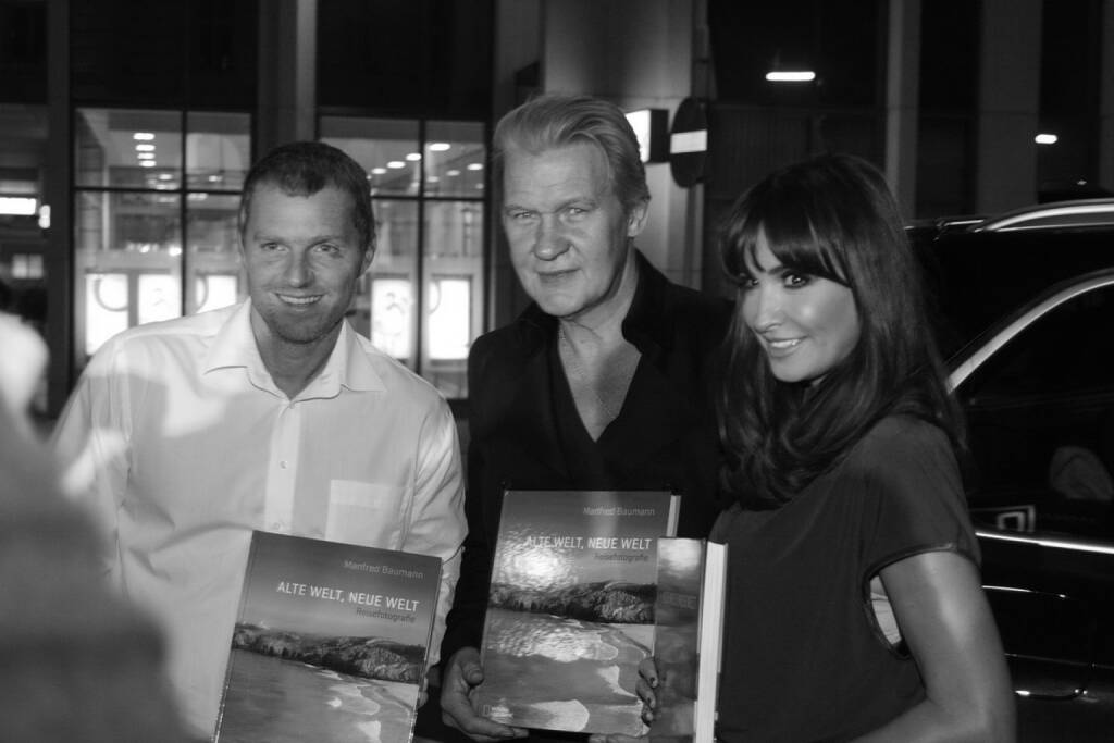 Manfred Baumann, Johnny Logan, Nelly Baumann, © www.manfredbaumann.com (10.10.2013)