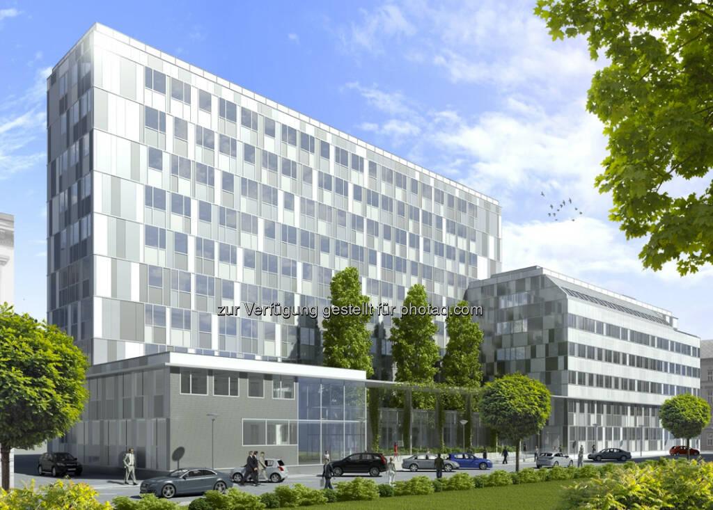 CA Immo vermietet 21.500 m² im Wiener Bürogebäude Silbermöwe an Bosch (c) CA Immo (15.12.2012)