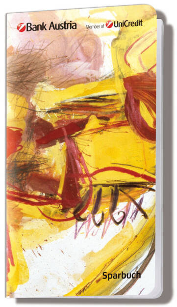 """Ein """"echter"""" Messensee: Das Bank Austria KünstlerSparbuch 2013 - vom 14. Oktober bis 8. November 2013 gibt es das diesjährige KünstlerSparbuch mit 1 Prozent p.a. Fixzinsen bei 24 Monaten Laufzeit (11.10.2013)"""