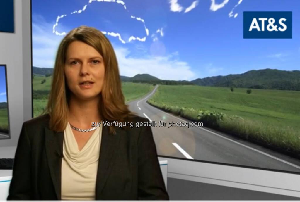 Tina Sumann, Specialist Sustainability AT&S, für http://www.youtube.com/watch?v=U7RYsZknmeg (12.10.2013)