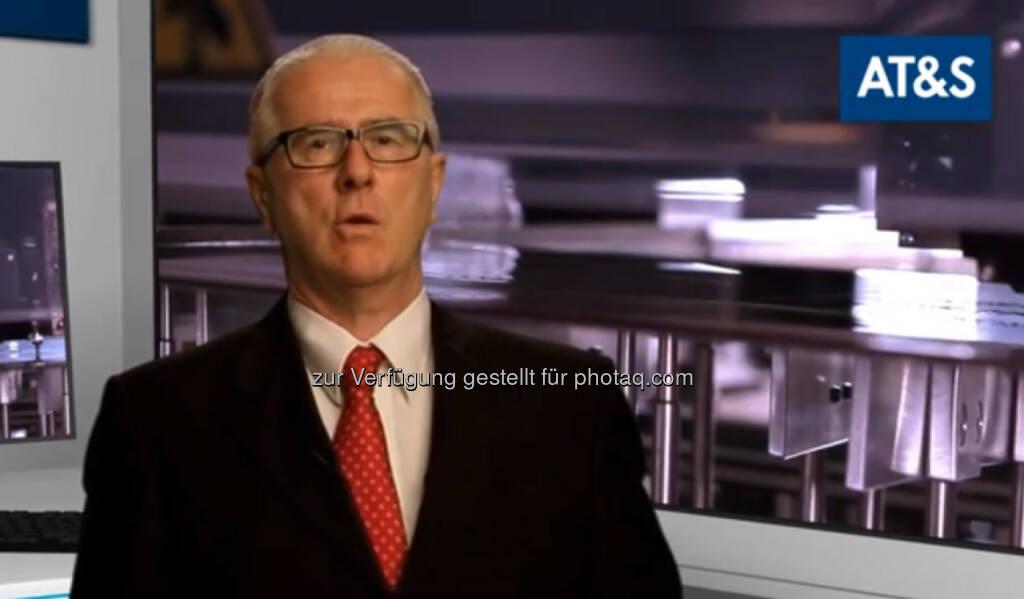 Heinz Moitzi, CTO AT&S, für http://www.youtube.com/watch?v=U7RYsZknmeg (12.10.2013)