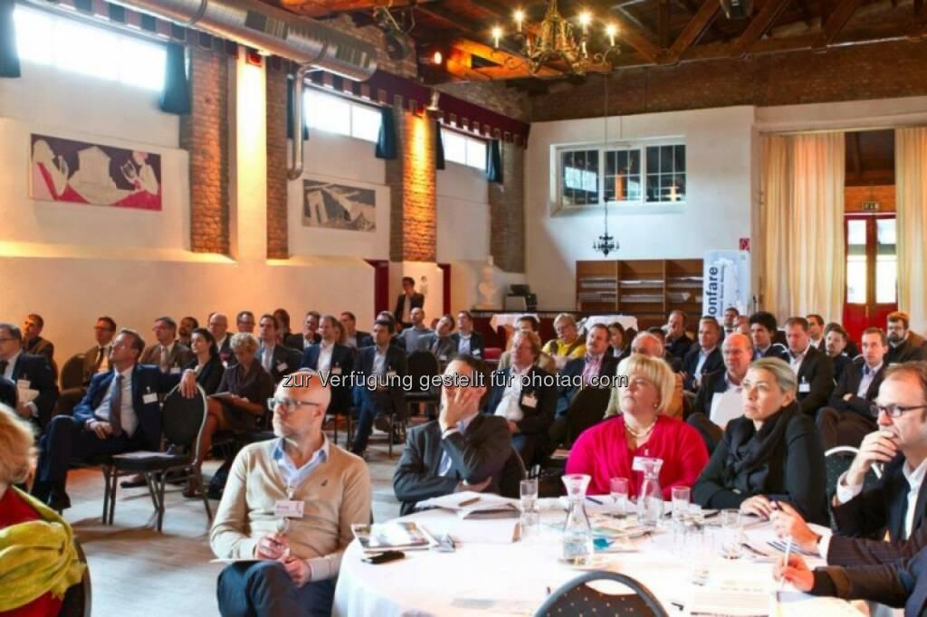 4.GBB-Konferenz: Rund 150 Teilnehmer waren vertreten - Bild (c) Confare GmbH (15.10.2013)