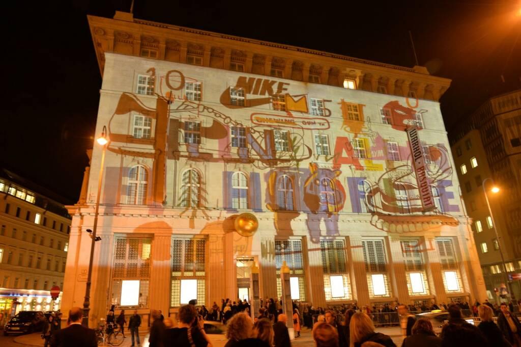 Bank Austria Kunstforum bei Nacht, © leisure.at/Christian Jobst (16.10.2013)