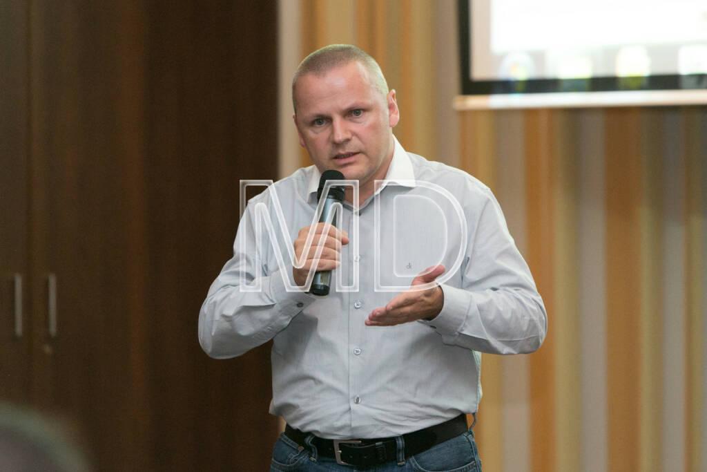 Jörg Buckmann (Zürcher Verkehrsbetriebe), © Martina Draper (16.10.2013)