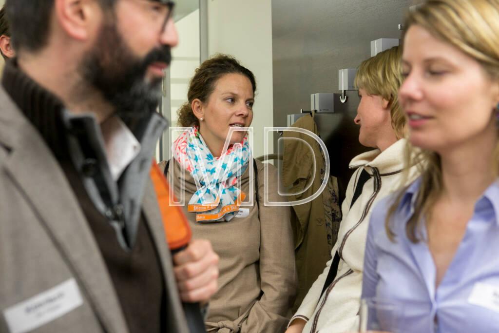 Sabine Hoffmann (ambuzzador), Karin Krobath (Identitäter), © Martina Draper (16.10.2013)