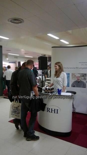 RHI auf der Teconomy 2013 in der TU Wien (16.10.2013)
