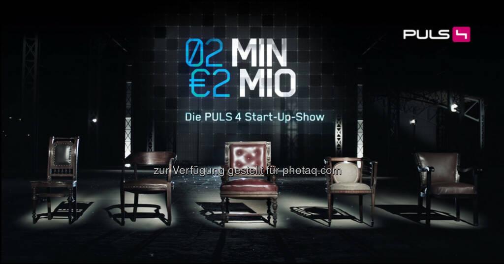 2 Minuten 2 Millionen - die Puls 4 Start Up Show: Halbzeit des Crowdinvesting-Onlinevotings - bisher sorgen 7000 abgegebene Stimmen für ein Kopf-an-Kopf-Rennen und alles ist noch offen (16.10.2013)
