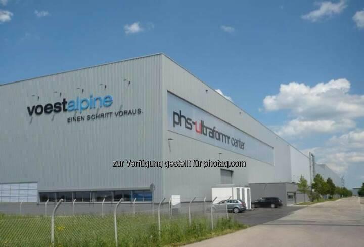 """voestalpine: Eröffnung des neuen phs-ultraform-Centers in Schwäbisch Gmünd: Mit der neuen Anlage wird das Produktionsportfolio um das patentierte Produktionsverfahren """"Partiell Pressgehärtete Bauteile"""" erweitert: http://bit.ly/16a7GpH"""