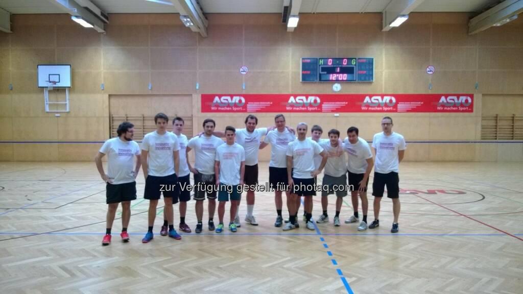 Tailored Apps, das Team um Maximilian Nimmervoll und Lorenz Edtmayer, auch sportlich ein Team (17.10.2013)