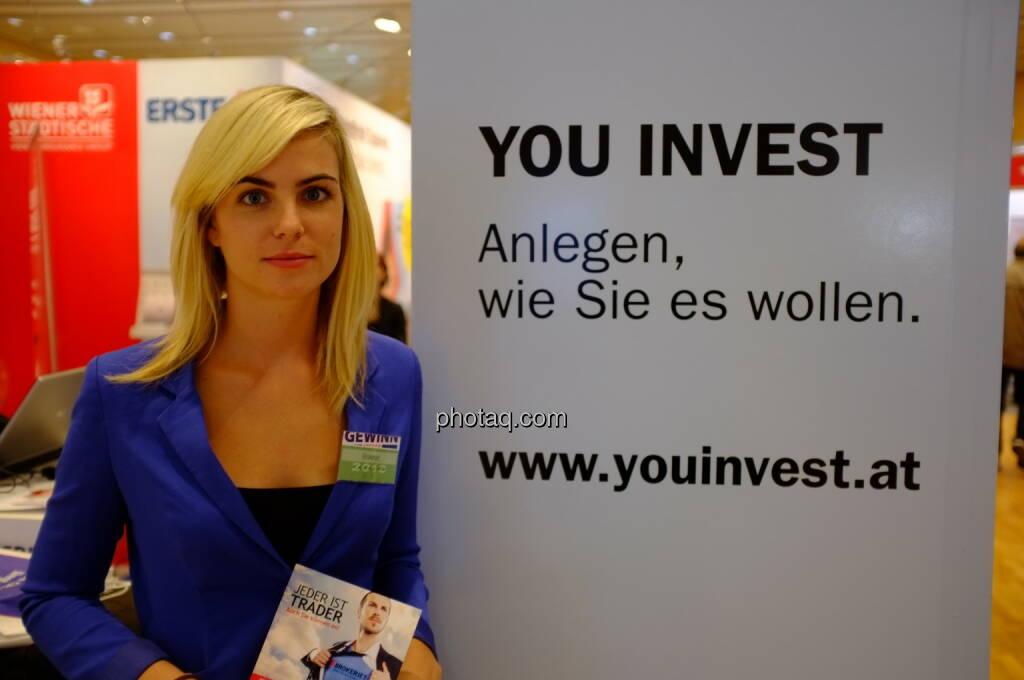 Erste Group, You Invest auf der Gewinn Messe 2013 (17.10.2013)