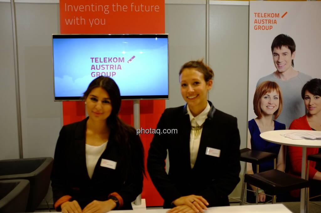 Telekom Austria auf der Gewinn Messe 2013 (17.10.2013)