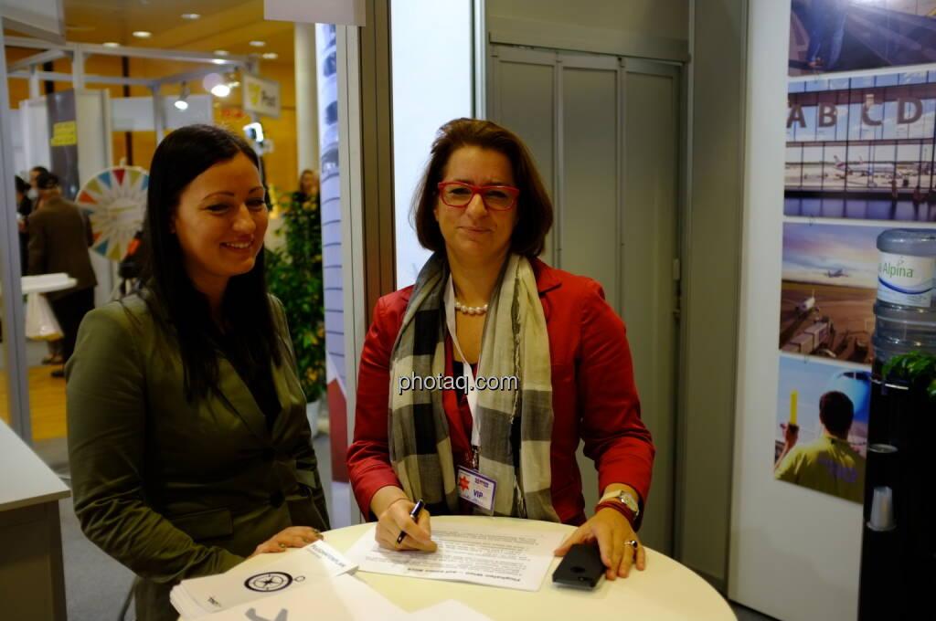 Flughafen (u.a. Judith Helenyi) auf der Gewinn Messe 2013 (17.10.2013)