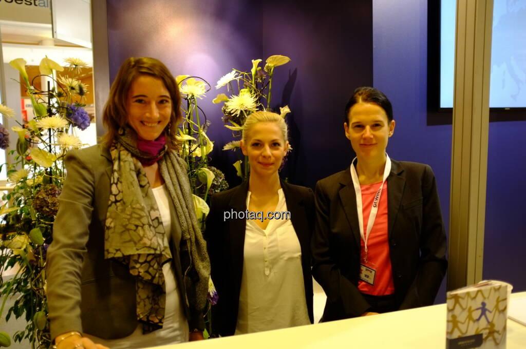 Immofinanz (u.a. Bettina Schragl) auf der Gewinn Messe 2013 (17.10.2013)