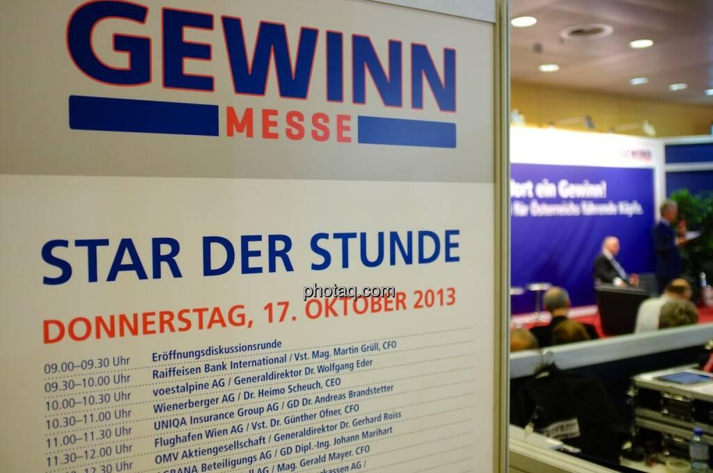 Gewinn Star der Stunde (17.10.2013)
