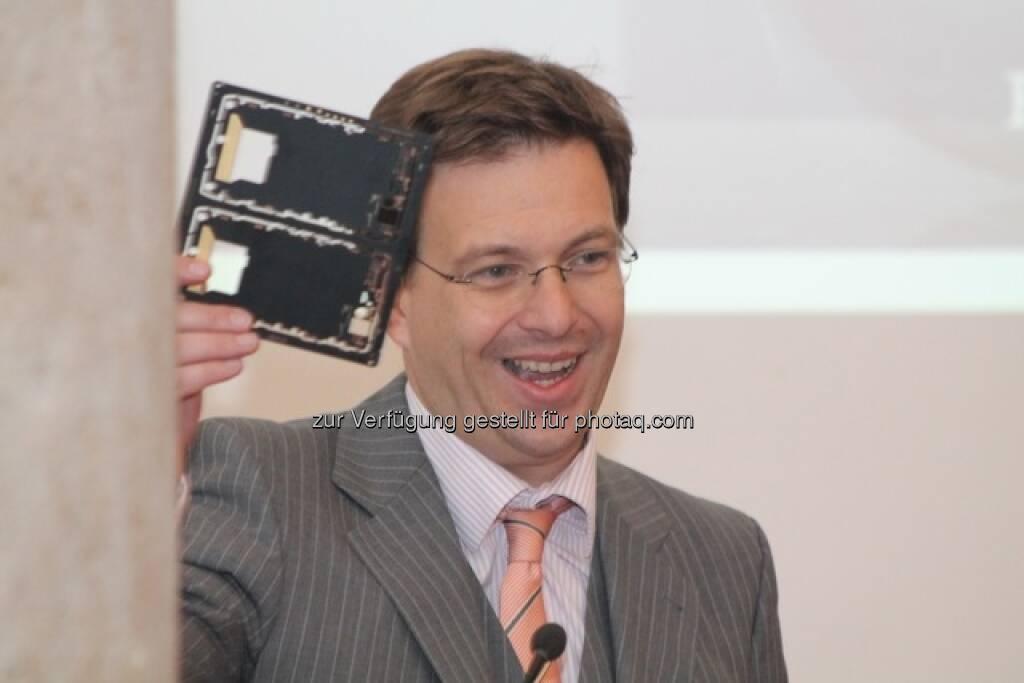 Martin Theyer, AT&S Austria Technologie & Systemtechnik, © Wiener Börse (15.12.2012)