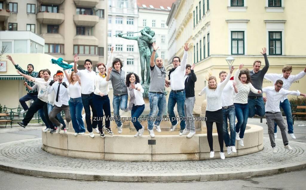 Das whatchado-Team, mehr unter http://www.finanzmarktfoto.at/search/whatchado (17.10.2013)