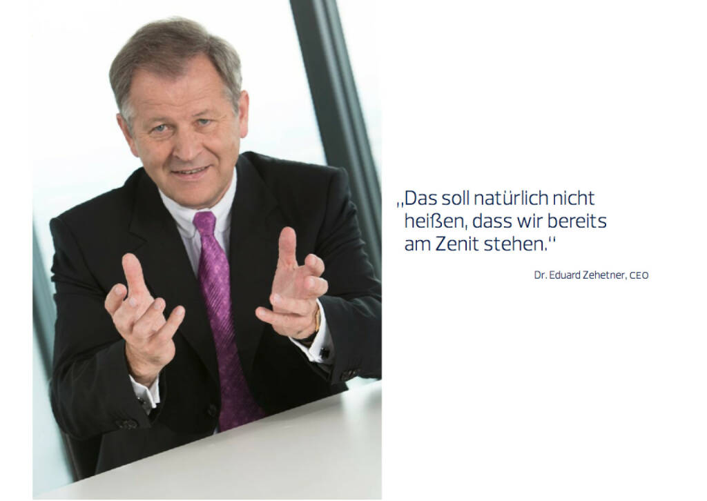 Eduard Zehetner, CEO, © Immofinanz (18.10.2013)