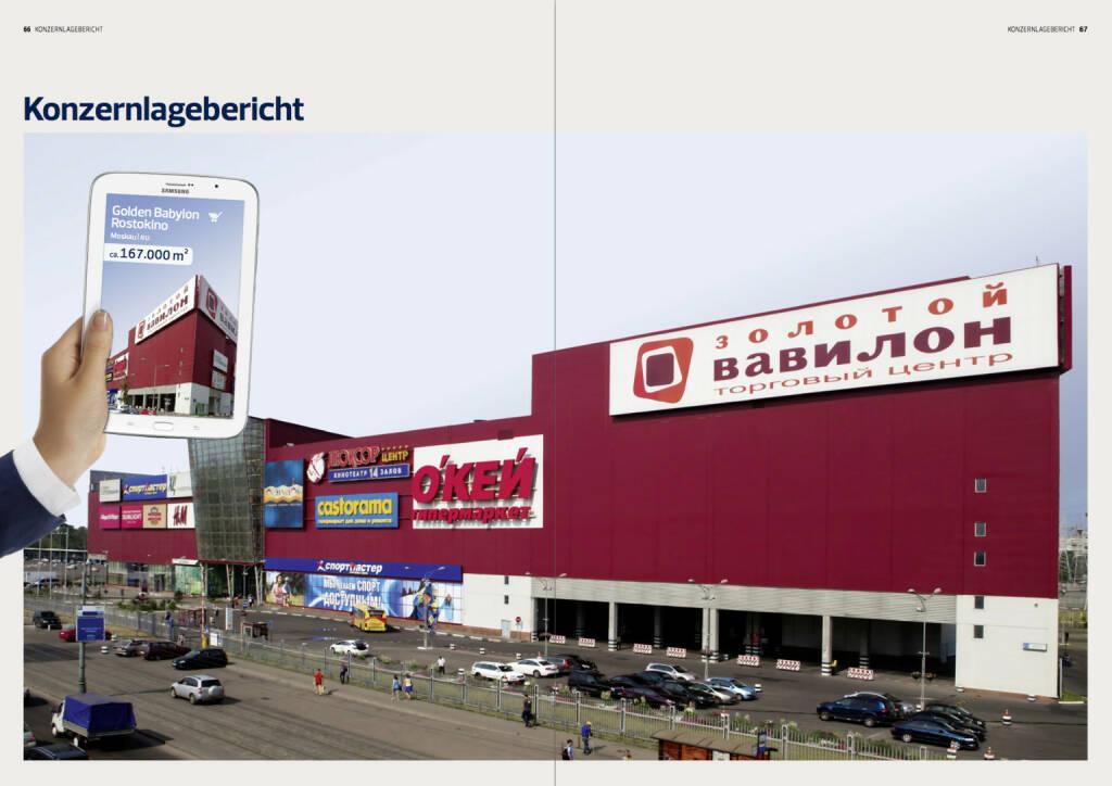 Konzernlagebericht, © Immofinanz (18.10.2013)