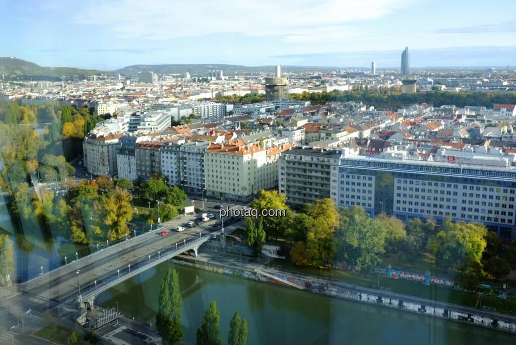 Wien Flakturm, Florido Tower, Donaukanal (18.10.2013)