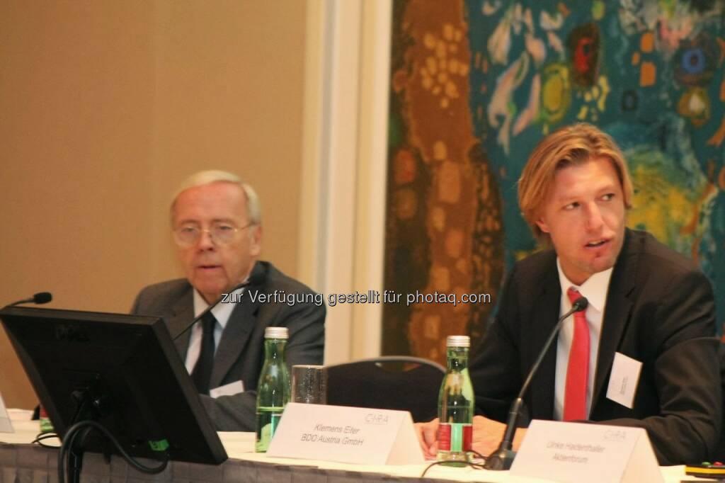 Klemens Eiter (BDO) C.I.R.A.-Jahreskonferenz 2013, © C.I.R.A. (22.10.2013)