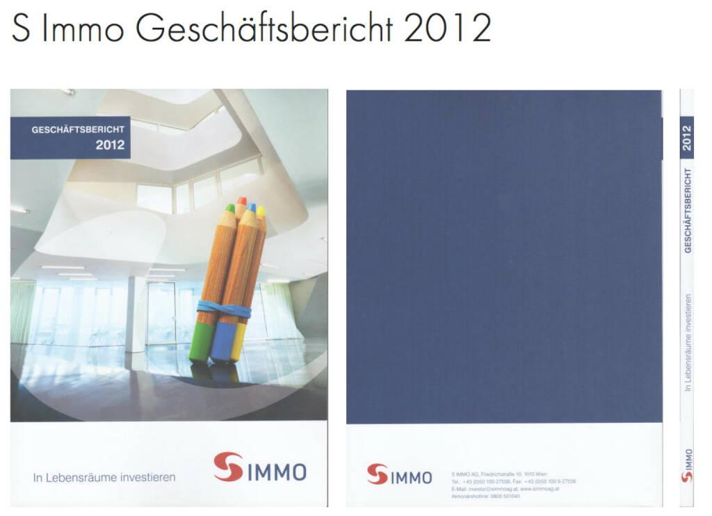 S Immo Geschäftsbericht 2012 http://josefchladek.com/companyreport/s_immo_geschaftsbericht_2012, © S Immo (25.10.2013)